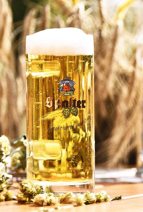 Hämmerla, Hopfen Biergarten, Spalter Bier
